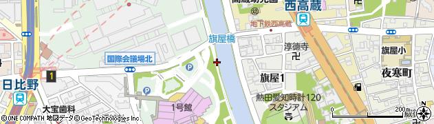 愛知県名古屋市熱田区熱田西町(西川並)周辺の地図