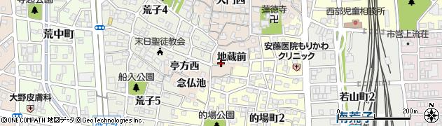 愛知県名古屋市中川区荒子町(地蔵前)周辺の地図