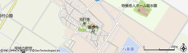善妙寺周辺の地図