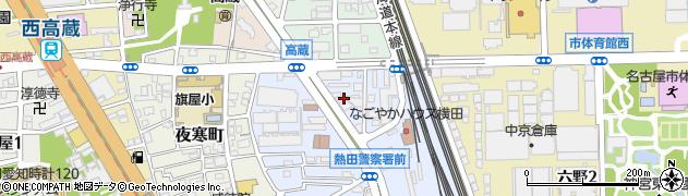 中国料理菜香周辺の地図