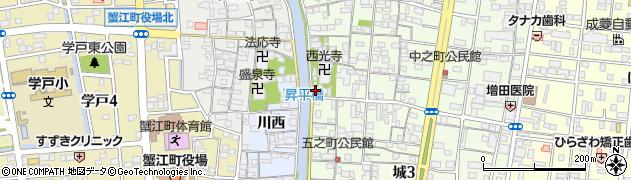 安楽寺周辺の地図