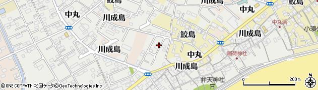 静岡県富士市中丸周辺の地図