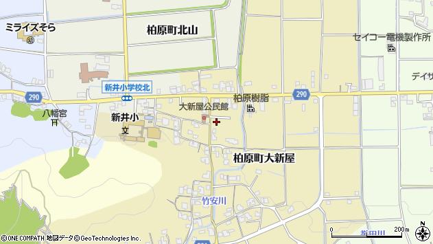 〒669-3315 兵庫県丹波市柏原町大新屋の地図