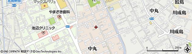 静岡県富士市川成島周辺の地図