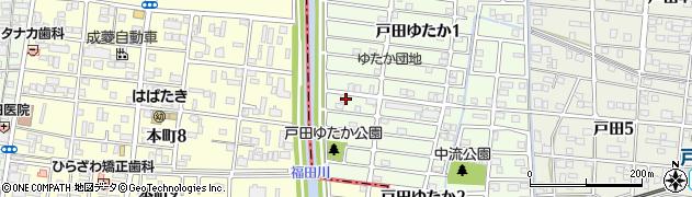 魚式周辺の地図