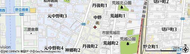 愛知県名古屋市中川区丹後町周辺の地図