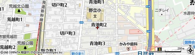 愛知県名古屋市熱田区青池町周辺の地図
