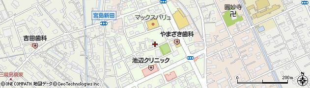 静岡県富士市川成新町周辺の地図