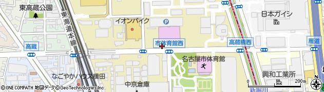 愛知県名古屋市熱田区六野周辺の地図