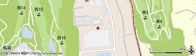 愛知県みよし市黒笹町(丸根)周辺の地図