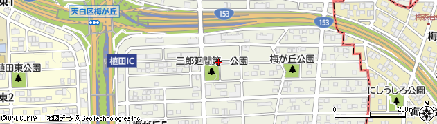 愛知県名古屋市天白区梅が丘周辺の地図