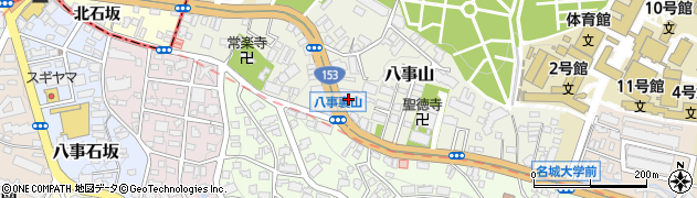 味仙 八事店周辺の地図