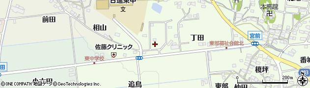 愛知県日進市米野木町(丁田)周辺の地図