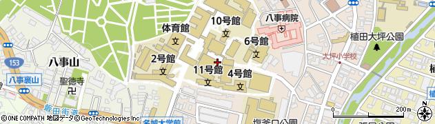 名城大学 天白第二食堂周辺の地図