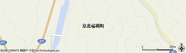京都府京都市右京区京北弓槻町周辺の地図