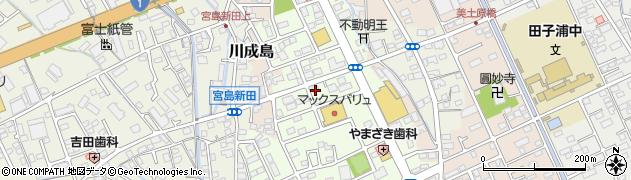 レッドベリー周辺の地図