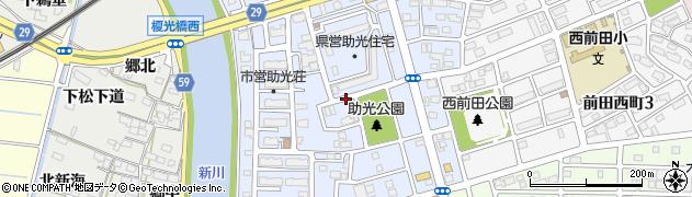 愛知県名古屋市中川区助光周辺の地図