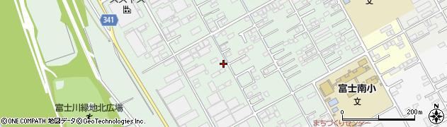 静岡県富士市宮下周辺の地図