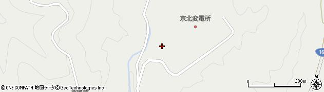 京都府京都市右京区京北細野町(栢尾谷)周辺の地図