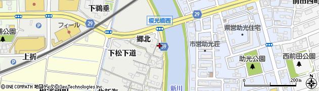 愛知県名古屋市中川区富田町大字榎津(腰懸)周辺の地図