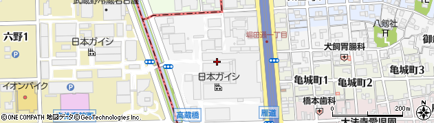 愛知県名古屋市瑞穂区須田町周辺の地図