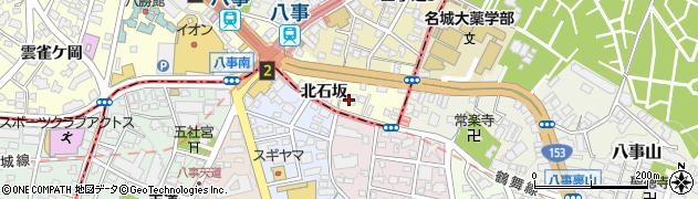 愛知県名古屋市昭和区広路町(北石坂)周辺の地図