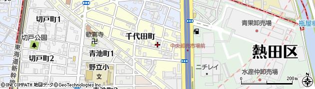 株式会社大庄 名古屋物流センター周辺の地図