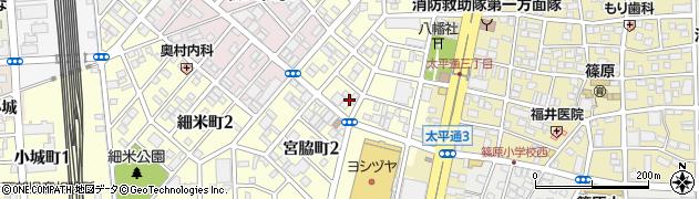 愛知県名古屋市中川区宮脇町周辺の地図
