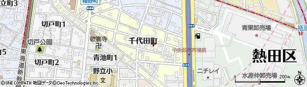 愛知県名古屋市熱田区千代田町周辺の地図