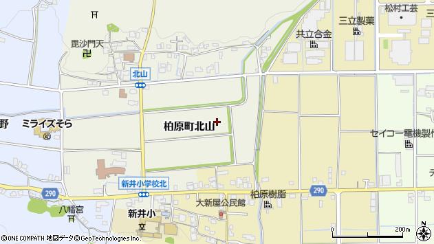 〒669-3313 兵庫県丹波市柏原町北山の地図