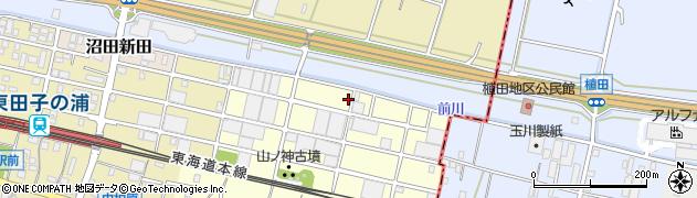 静岡県富士市東柏原新田周辺の地図