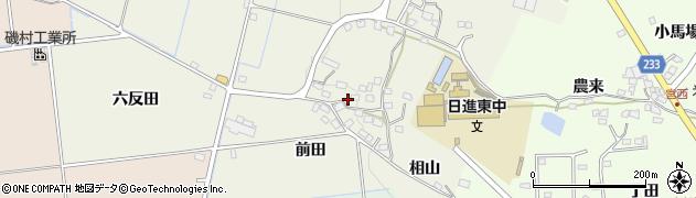 愛知県日進市藤島町(前田)周辺の地図