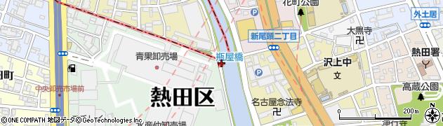 愛知県名古屋市中川区川並町周辺の地図