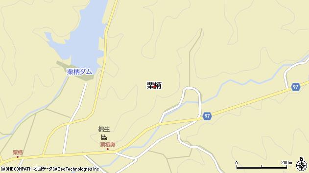 〒669-2711 兵庫県丹波篠山市栗柄の地図