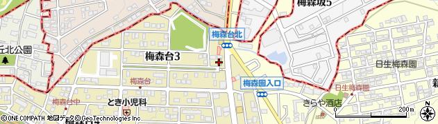 しょうゆ亭周辺の地図