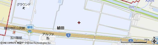 静岡県沼津市植田周辺の地図