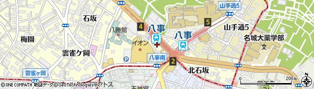 歌志軒 やごと店周辺の地図