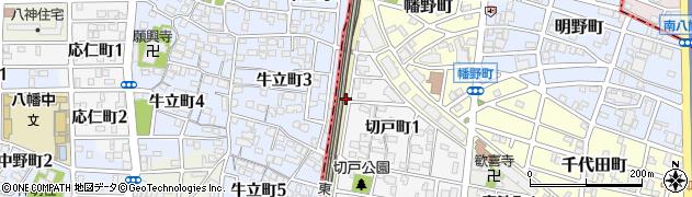 愛知県名古屋市熱田区野立町(切戸裏)周辺の地図