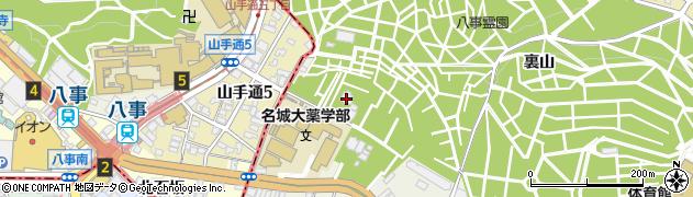 東蓮寺周辺の地図