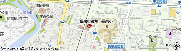 静岡県駿東郡長泉町周辺の地図