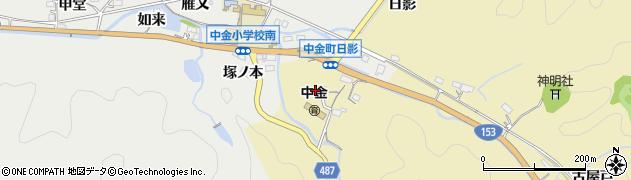 愛知県豊田市城見町(須田口)周辺の地図