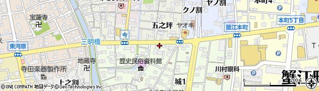 ラウンジ錦周辺の地図