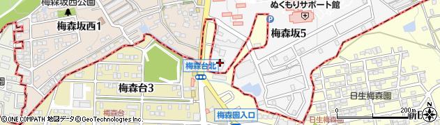ベニ周辺の地図