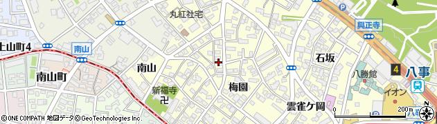 愛知県名古屋市昭和区広路町(松風園)周辺の地図