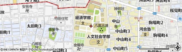 愛知県名古屋市瑞穂区瑞穂町(山の畑)周辺の地図