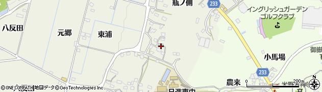 愛知県日進市藤島町(瓶ノ側)周辺の地図