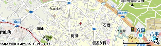 愛知県名古屋市昭和区広路町周辺の地図