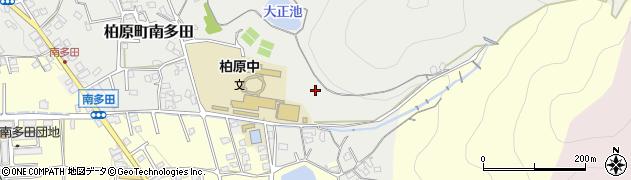 兵庫県丹波市柏原町南多田周辺の地図