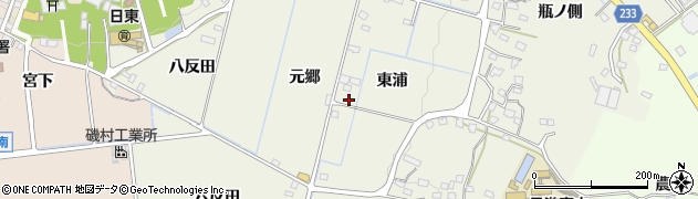 FF周辺の地図