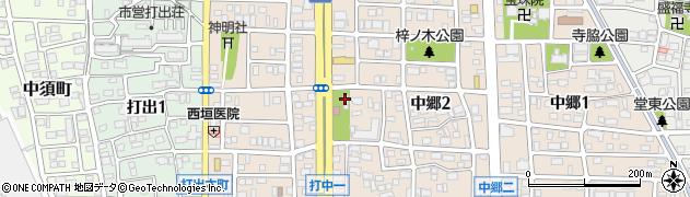 雨宮神社周辺の地図